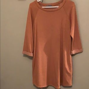 Cherish cuff sleeve with pockets tunic